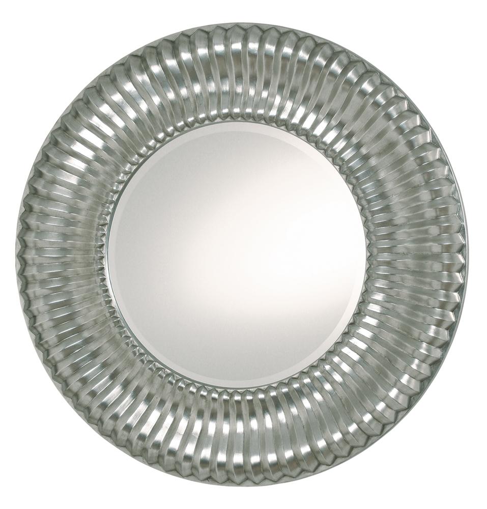 rund spegel silver